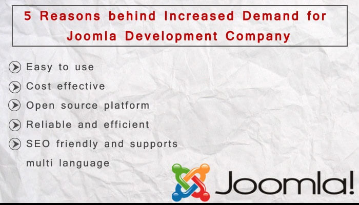 Increasing Demand of Joomla Development Companies