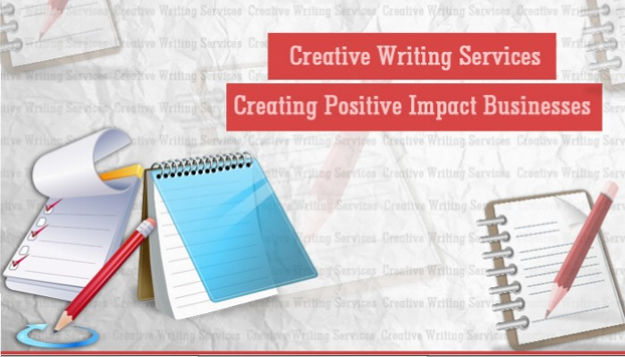 Creative Writing Services: Creating an Impact in Your Business Writing