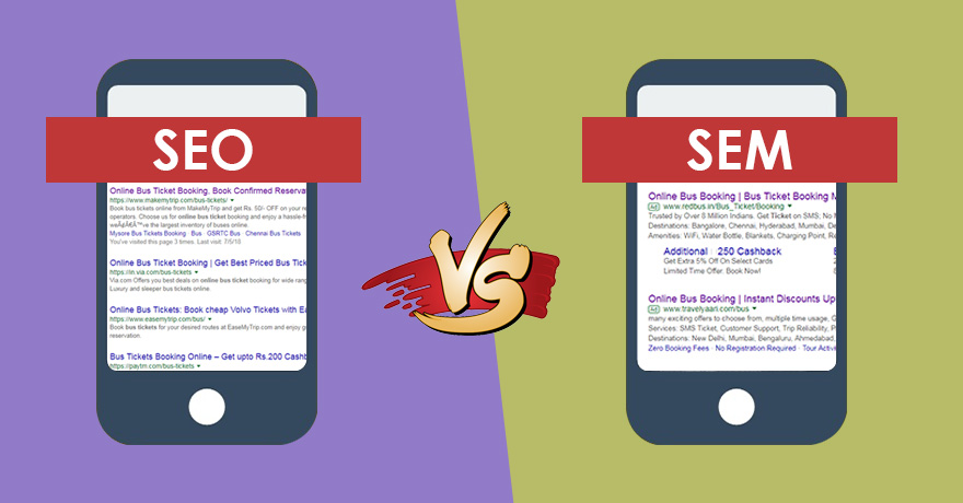 Paid Search Engine Marketing Vs. Organic Marketing- Which One to Opt?