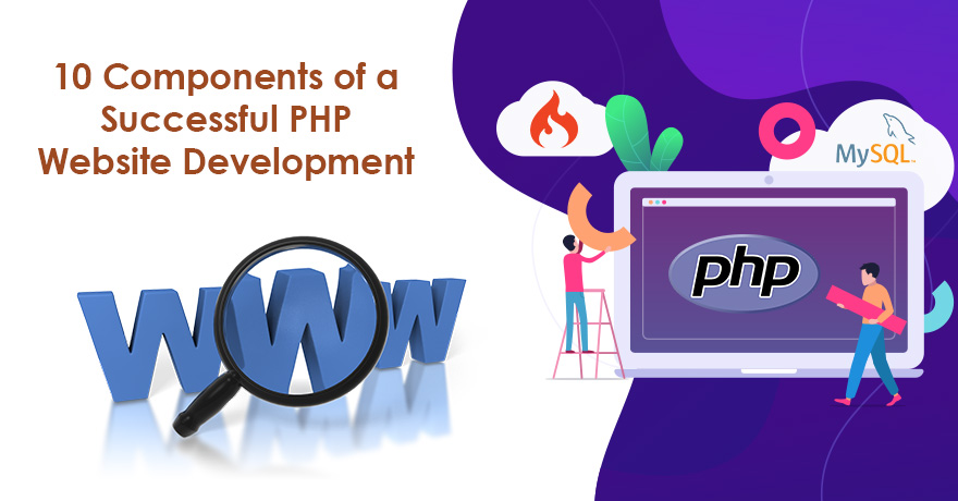10 Components of a Successful PHP Website Development Project