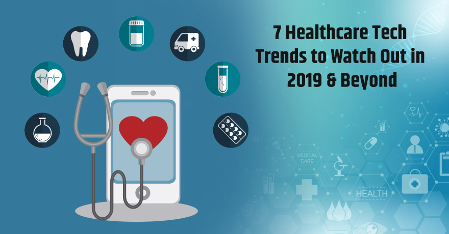 7 Healthcare Tech Trends You Should Look Forward to in 2019-20