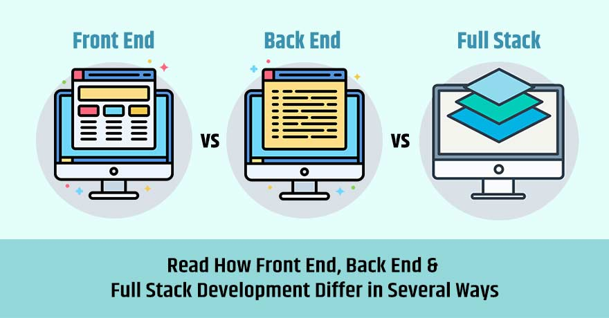 What are Front-End, Back-End & Full-Stack Web Development?