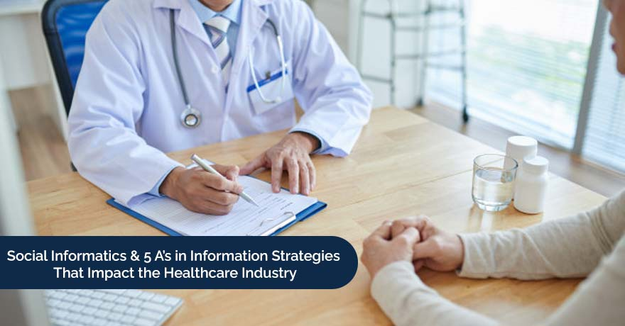 Social Informatics & 5 A's in Information Strategies That Impact the Health IT Industry